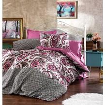 Saténový povlak na polštář Loran pink, Výběr rozměru: 30x40