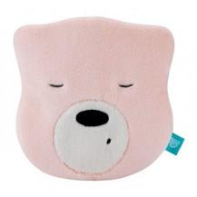Mini šumící Medvídek - hlava - sv. růžová