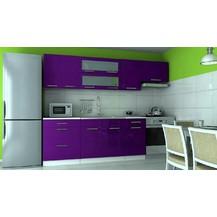 Kuchyňská linka Dakota 180/240 fialový lesk