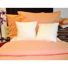 Bavlněný povlak na polštářek 35x45cm lososový