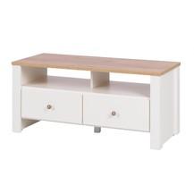 TV stolek Bacardi R15 dub zlatý/crem