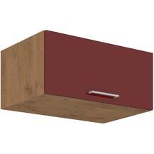 Kuchyňská skříňka Vega 80NAGU36-1F dub lancelot/bordo lesk