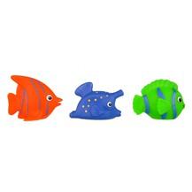 Hencz Toys Gumové zvířátka do vody - rybičky, 3ks v balení