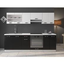 Kuchyňská linka Onyx 240 bílá/černá