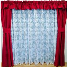 Záclona kusová - Olga 240x200 cm (bílá)