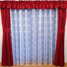 Záclona Linda výška 150 cm (bílá)