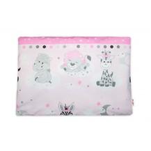 Baby Nellys  Povlak na polštářek Safari Baby, 40x60 cm - růžový