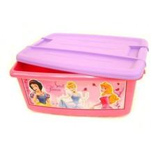 Box úložný růžový Disney Princezny plast 43x20x29cm