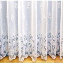 Záclona Valerie výška 200 cm  (bílá)