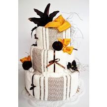 Veratex Textilní dort třípatrový Mozaika