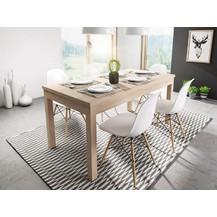 Rozkládací jídelní stůl Aspen 120x80 dub sonoma