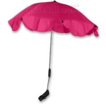 Slunečník, deštník univerzální do kočárku - růžový