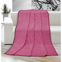 Deka micro jednolůžko 150x200cm růžová