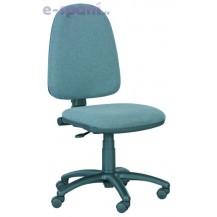 Kancelářská židle Eco 8 modrá - Klasická kolečka