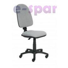 Kancelářská židle ECO 8 Atyp žlutá - Klasická kolečka
