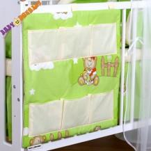 Kapsář  - Medvídek v zeleném/ecru
