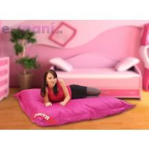 Sedací pytel 179x140 perfekt pink