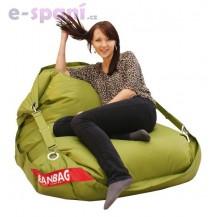 Sedací pytel 189x140 comfort s popruhy green frog
