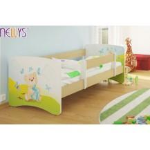 Dětská postel Nellys ® - Míša dáreček/sv.hnědá NELLYS