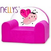 Dětské křesílko/pohovečka Nellys ® - Beruška NELLYS