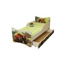 Dětská postel a šuplík/y Auto