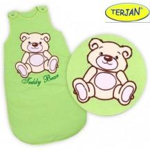 Spací vak Medvídek TEDDY - sv. zelený vel. 1 TERJAN