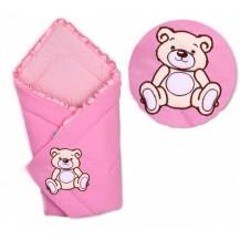 Zavinovačka Medvídek - jersey - růžová
