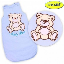 Spací vak Medvídek TEDDY - sv. modrý vel. 0+ TERJAN