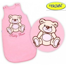 Spací vak Medvídek TEDDY - sv. růžový vel. 0+ TERJAN