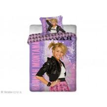 Bavlněné povlečení Hannah Montana fialová 140x200