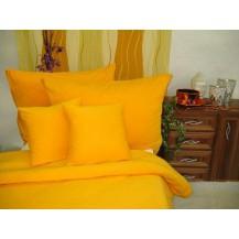 Jersey povlečení 70x90 140x200 (č. 7-sytě žlutá)