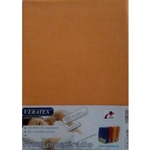 Froté prostěradlo 120x200 cm (č.14 broskvová) Veratex