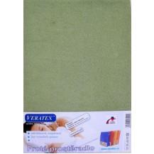 Froté prostěradlo 80x200 cm (č.12-stř.zelená) Veratex