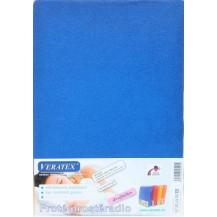 Froté prostěradlo 100x220 cm (č. 3-tm.modrá)