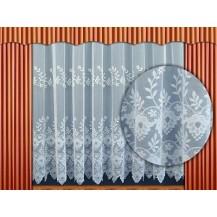 Záclona kusová - Zvonky 180x300 cm (bílá)
