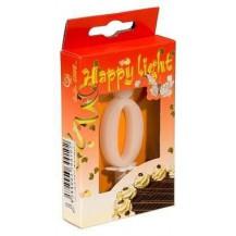 Svíčka dortová -0- krabička 70mm (7905)