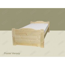 Postel Verony 100 x 205,5 cm (smrk)