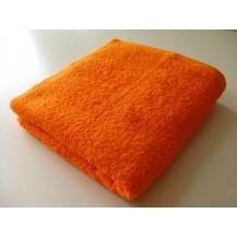 Osuška se jménem, nápisem 70x140 cm ( 8-oranžová) Veratex