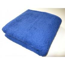 Osuška se jménem, nápisem 70x140 cm (12-tm.modrá)