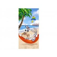 Froté osuška Bugs Bunny na pláži 75x150 cm