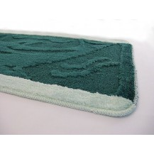 Koupelnová předložka 50x80 cm (zelená pruh) Veratex
