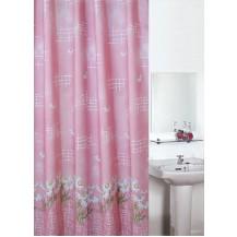 Koupelnový závěs 180x200 cm (kopretina růžová) Veratex