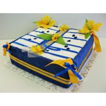 Textilní dort 2-H kniha Veratex