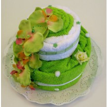 Svatební Textilní dort 2-Z dvoupatrový Veratex