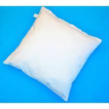 Polštář Klasik  950g (50x50 zip) bílý. 60°C Možnost doplnění náplně.