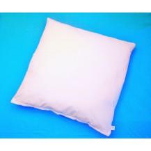 Polštář Klasik 1100g (80x80 zip) bílý. 60°C Možnost doplnění náplně.