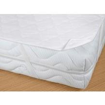 Matracový chránič  160x200 (bílý prošívaný)