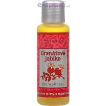Granátové jablko - exkluzivní tělový a masážní olej BIO WELLNESS 125ml Saloos