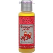 Granátové jablko - exkluzivní tělový a masážní olej BIO WELLNESS 250ml Saloos
