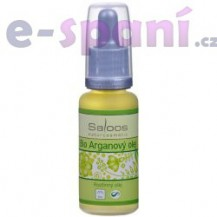 Arganový olej Bio - rostlinný olej lisovaný za studena 250ml Saloos
